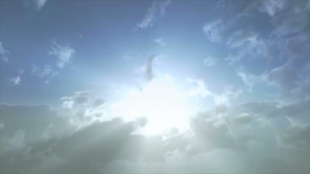 Sun ray felhők