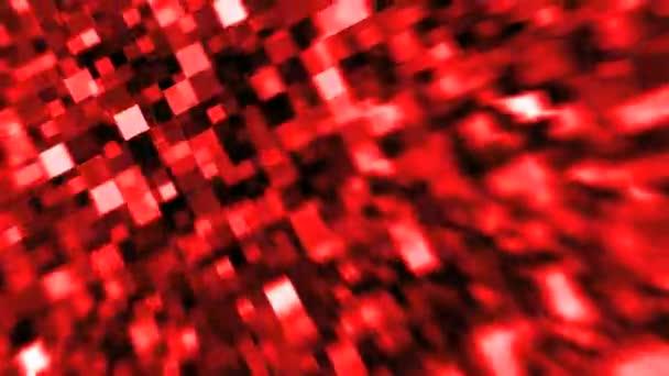 csillogó négyzetek-piros