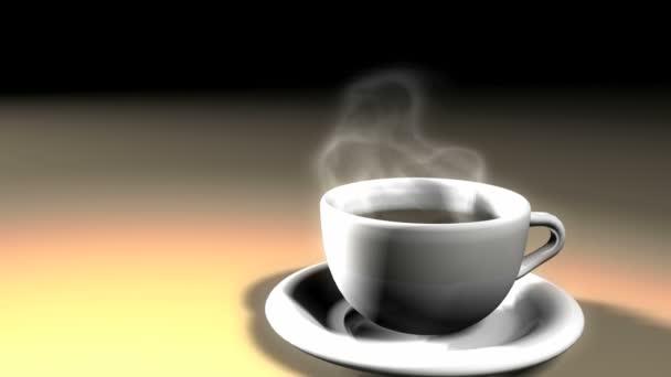 hrnek káva kouře