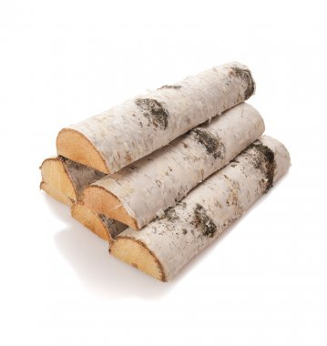 The logs of firewood