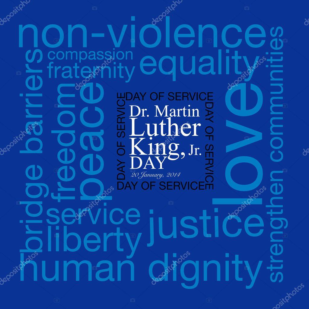 Mlk Patriotic Background Dr Martin Luther King Jr Day Of
