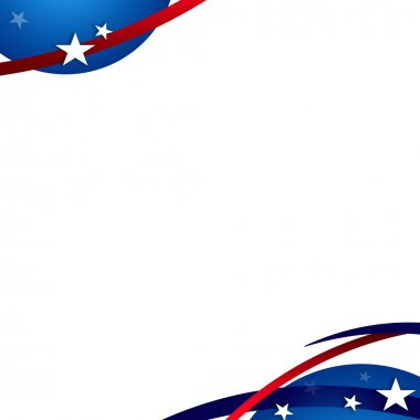 President Day Patriotic Background