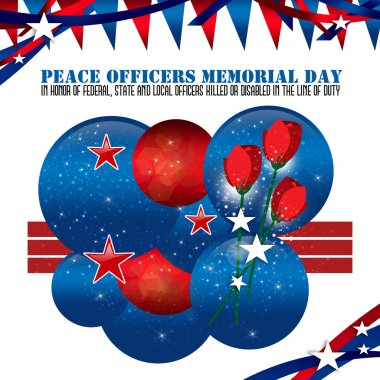Peace Officers Memorial Day Background