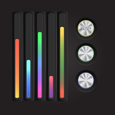 Music color equalizer