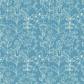 Fotografia seamless texture blu con fiori