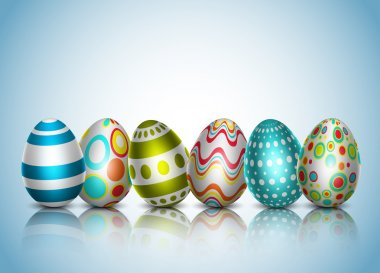 Vector illustration of Easter background. EPS10. Contains opacity and transparency. stock vector