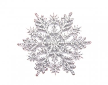 Natural Christmas snowflake