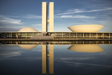 Brazilian congress building