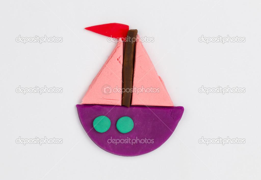 кораблики из пластилина картинки часто