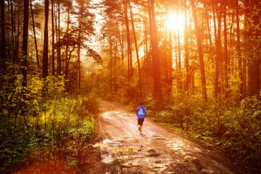 Morning jogger