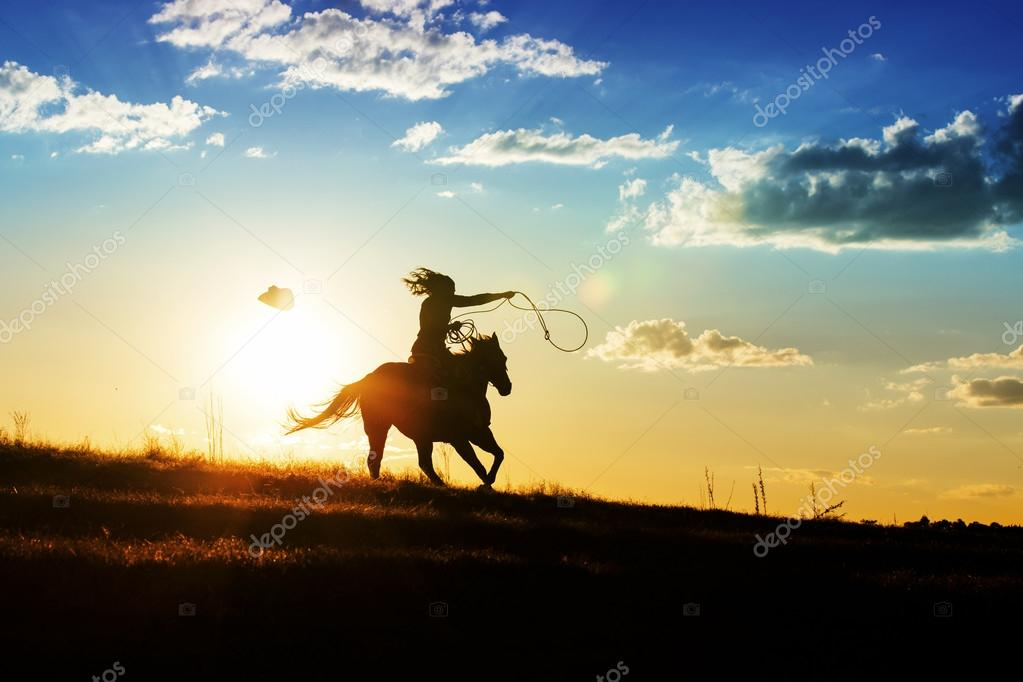 Image result for riding a horse off in the sunset