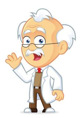 Professor Waving