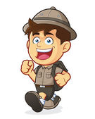 Boy scout nebo Průzkumník kluk