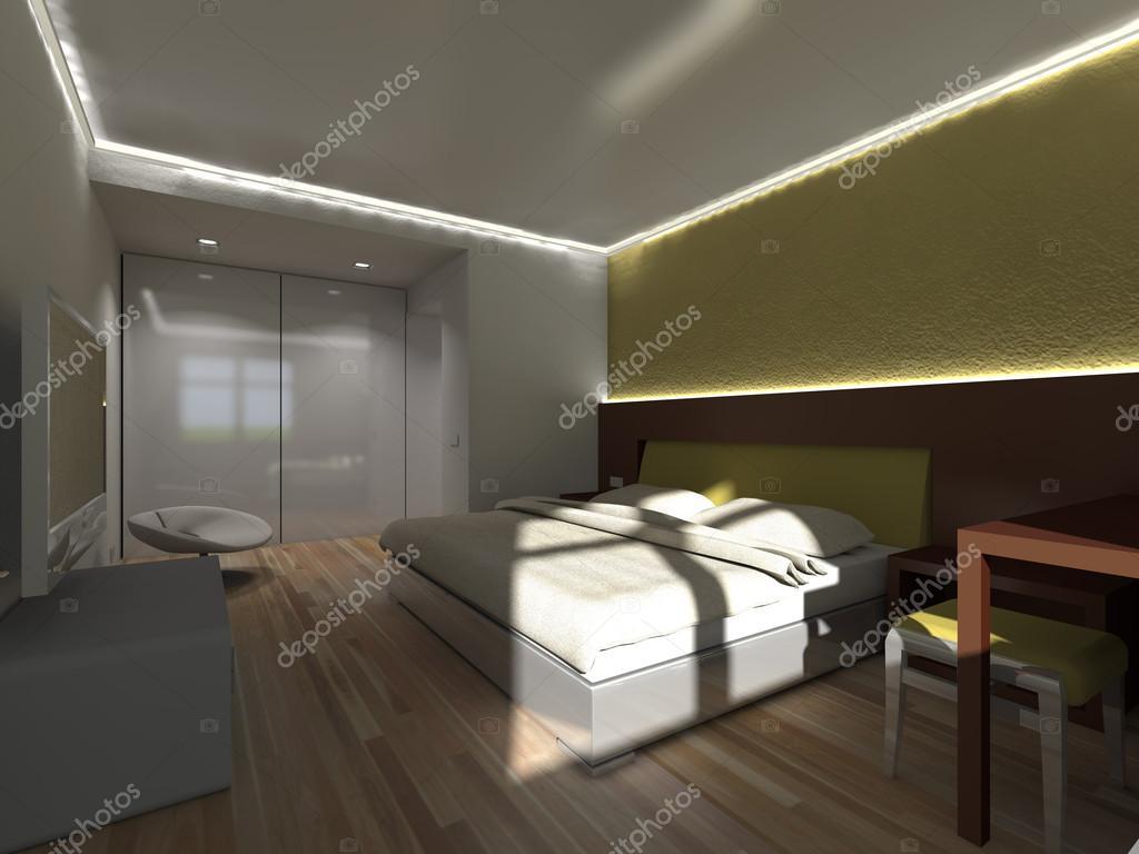 donkere slaapkamer — Stockfoto © Belskih #39426233