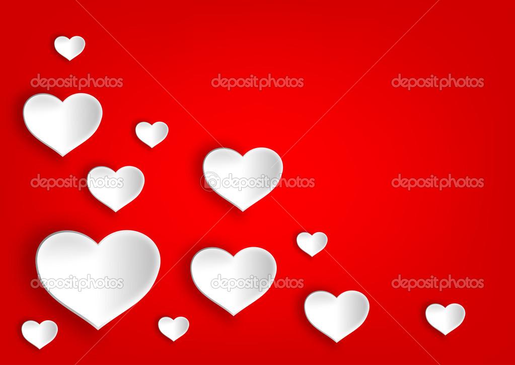 Fotos Corazones Bonitos Muchos Bonitos Blanco Corazón Para El Día
