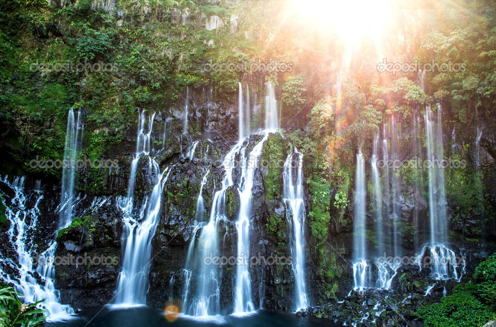 Waterfalls - Reunion Island