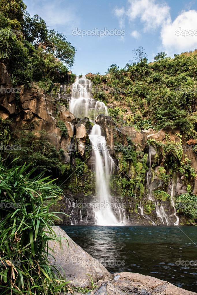 Waterfall Reunion Island