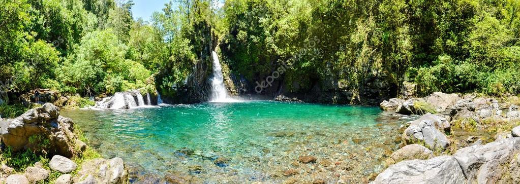 Waterfalls Reunion Island