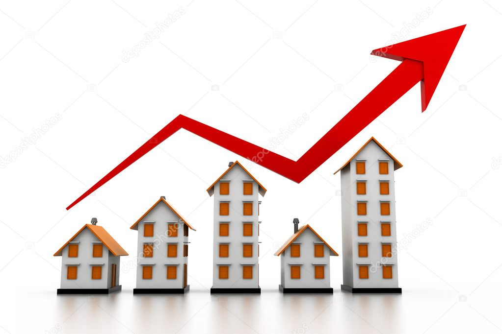 Graph of the housing market
