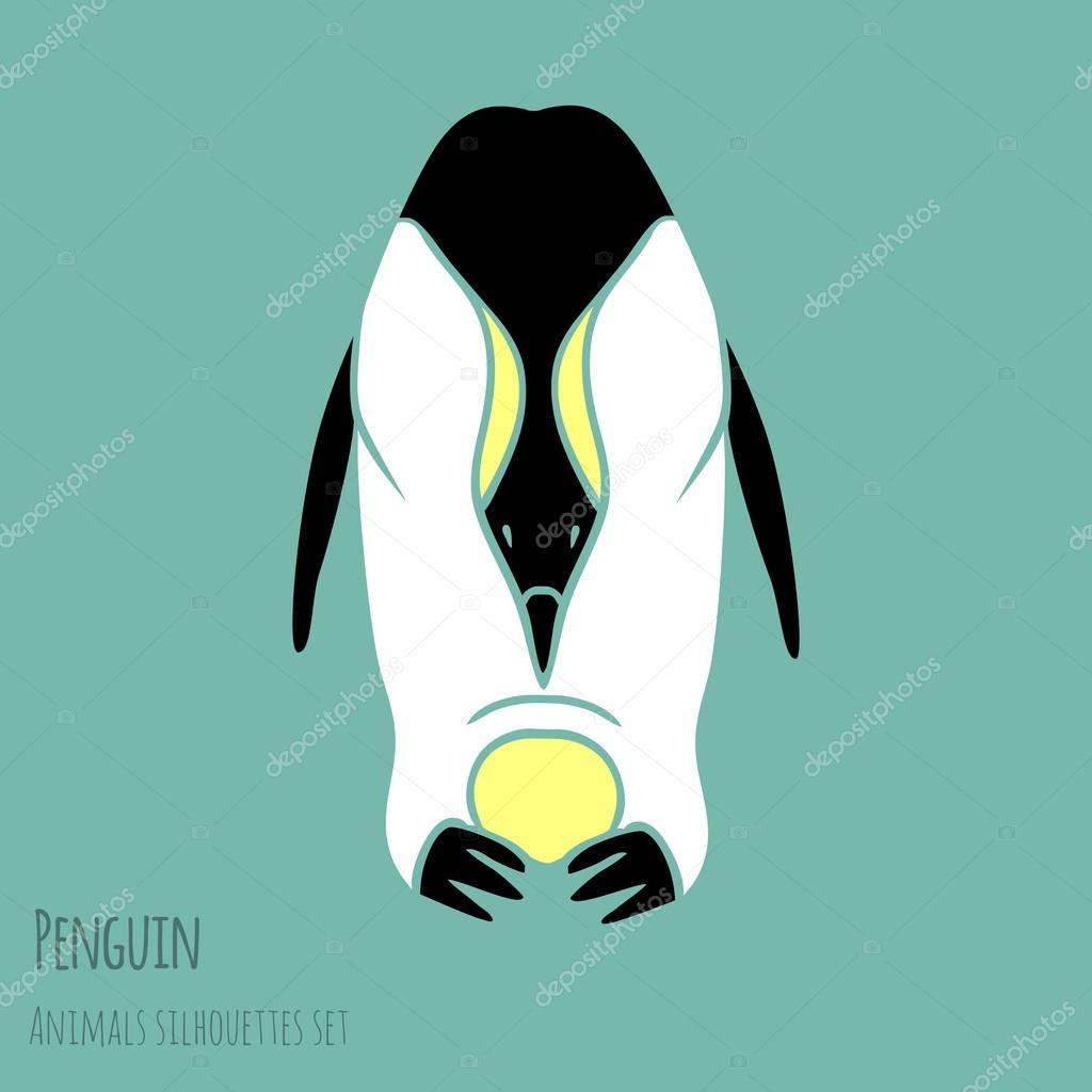 黒と白のペンギン \u2014 ストックベクター © Dashikka 49435461