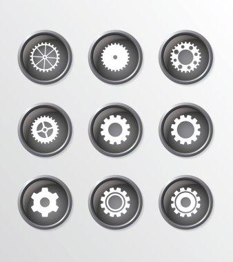 Gear buttons