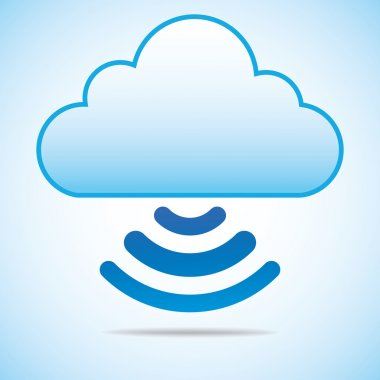 Cloud Computing Concept connect