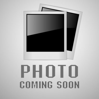 Photo coming soon image, vector illustrations