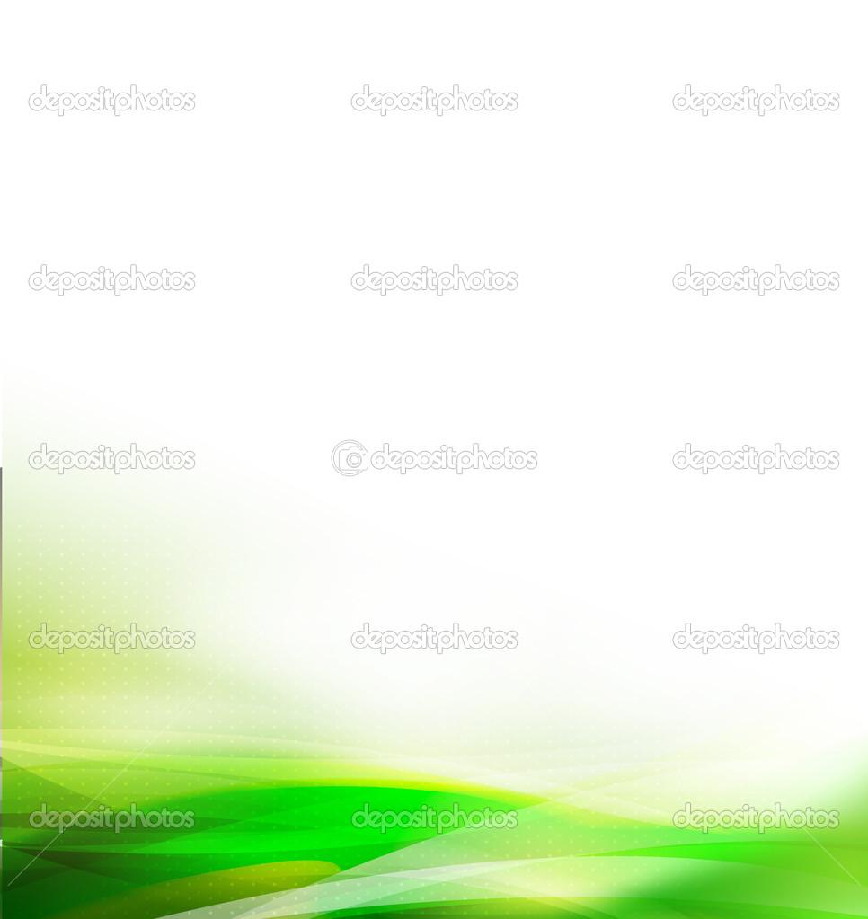 Astratto Verde Fluidità E Grafica Sfondo Bianco Foglia Vector