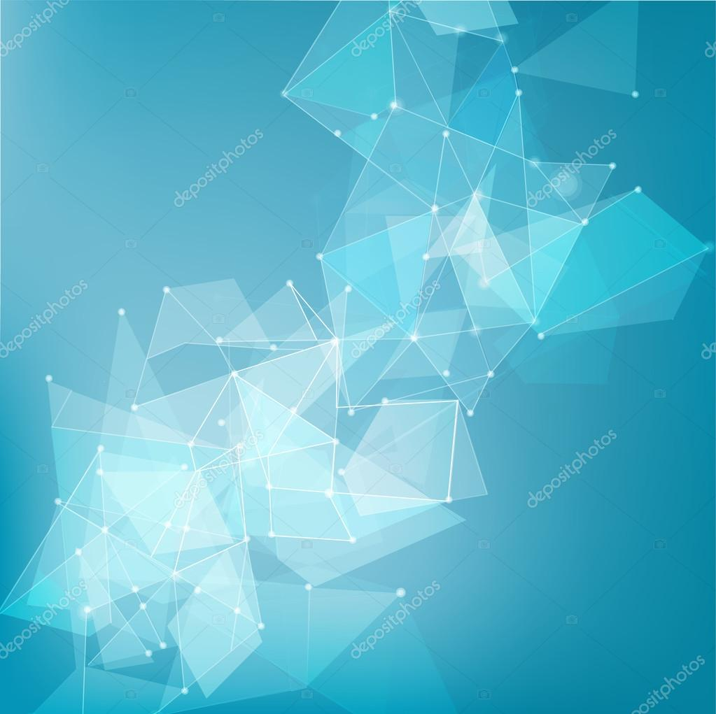 abstract mesh network background for technology, business concep
