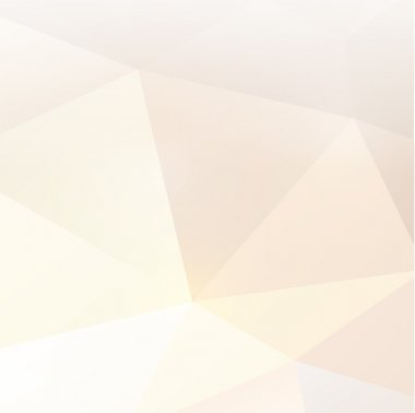 abstract polygon background in pastel tone, vector illustration
