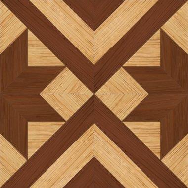Seamless parquet texture
