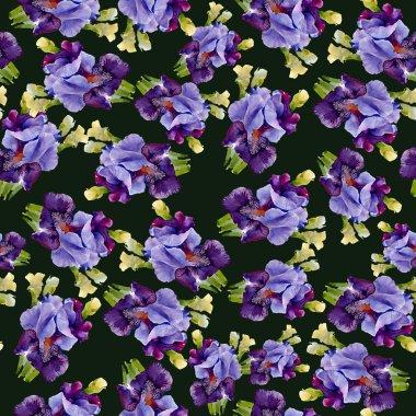 Irises pattern