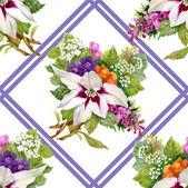 Fényképek virágmintás
