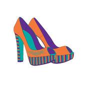 Női cipő csapok