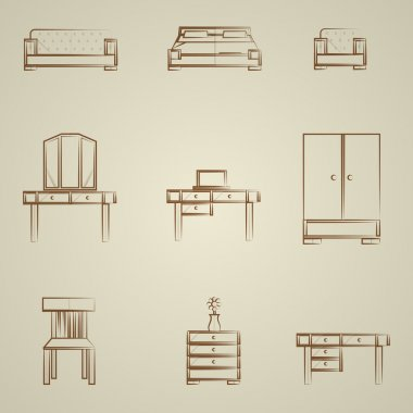 Icons for furniture