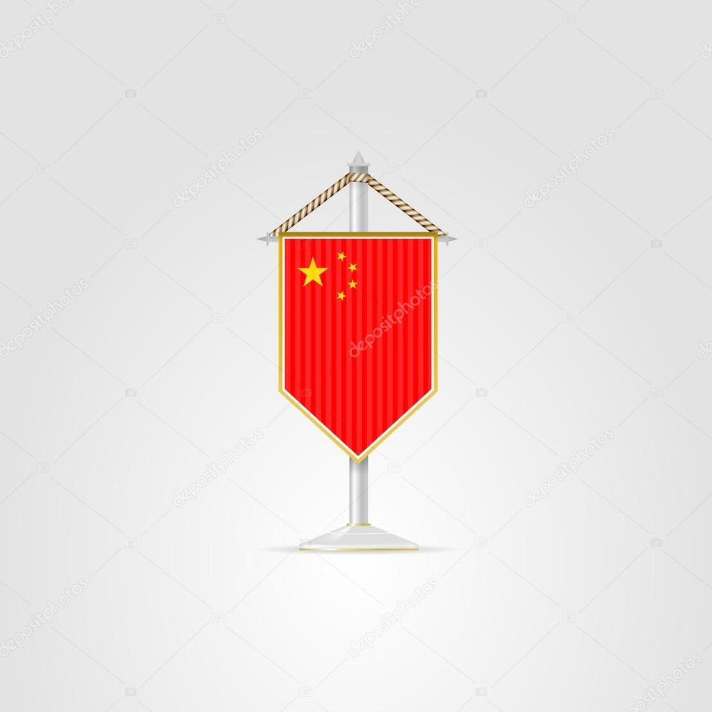 Illustration Of National Symbols Of Asian Countries China Stock
