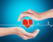 gyógyszert orvos dolgozik rámenős szív