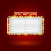 Retro-Kino-Zeichen