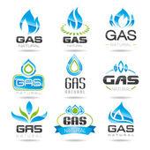 Symbole der Gasindustrie