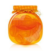 Photo Apricot jam