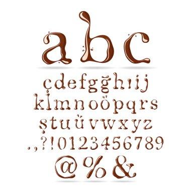 Chocolate Alphabet Lower Case