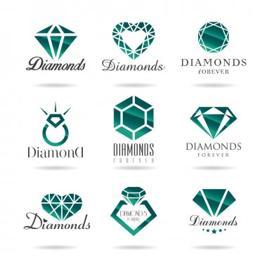 Jewelry, marriage, commitment, diamond can be used in areas such as design icons. stock vector