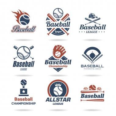Baseball icon set - 3