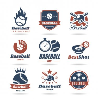 Baseball icon set - 2