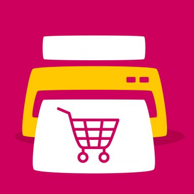 print out images  shopping cart.