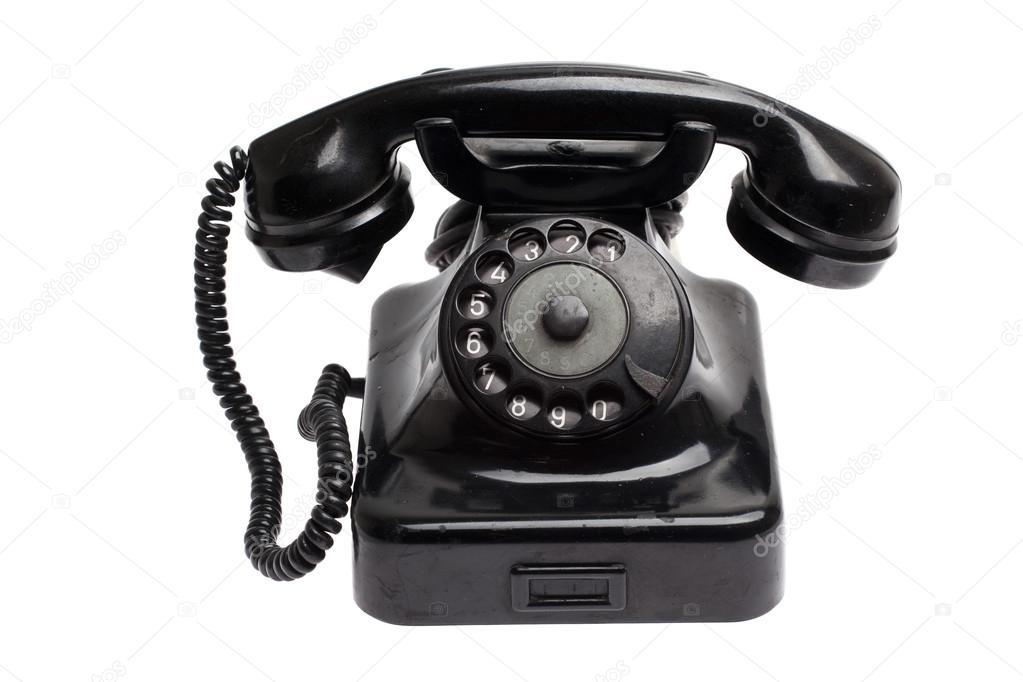 Teléfono Antiguo — Foto De