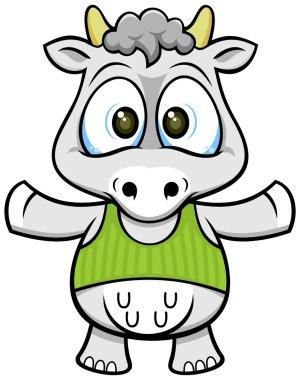 Friendly cow 02