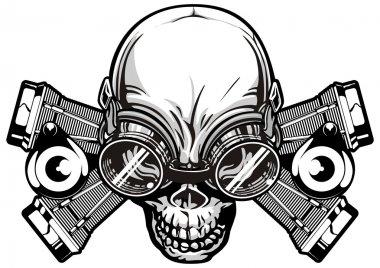 Machine skull