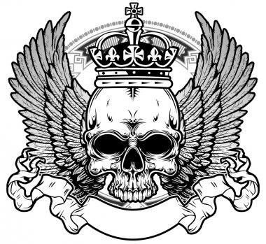Kings skull