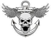 Marine-Schädel